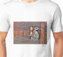 The demons chase me... – Demonerna jagar mig Unisex T-Shirt