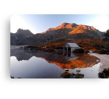 Dove Lake sunrise Canvas Print