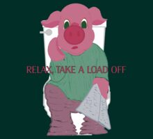 Relax, Take a Load Off by PharrisArt