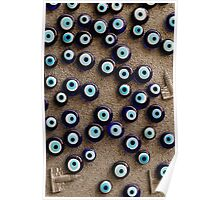 With so many eyes it's hard to focus Poster