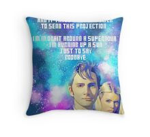 10TH and Rose Throw Pillow