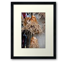 Root Portraits Framed Print