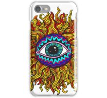 Psychedelic Sunflower - Just the flower iPhone Case/Skin