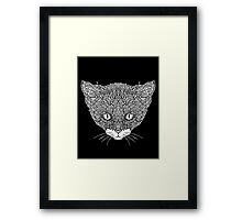 Tuxedo Cat - Complicated Cats Framed Print