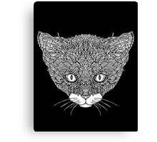 Tuxedo Cat - Complicated Cats Canvas Print