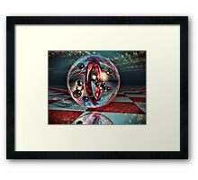 Redshift Riders Framed Print