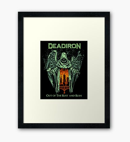 Saint Deadiron Framed Print