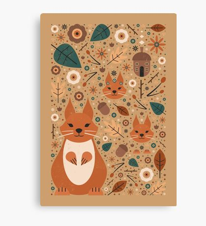 Squirrel Nutkin  Canvas Print