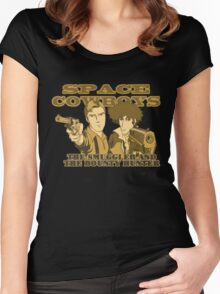 Space Cowboys Spike & Mal: V3.0 Women's Fitted Scoop T-Shirt