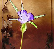 Purple Flower by JacquiK
