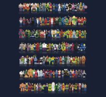 PIXELWORLD vol.1 - #ROSTER by designatius