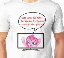 Pinkie Pie Fourth Wall Breach Unisex T-Shirt