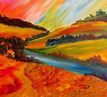 Landscape Composition by Sesha