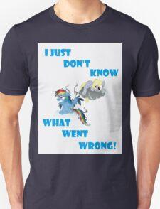 Derpy's gonna Derp - Poor Rainbow Dash Unisex T-Shirt