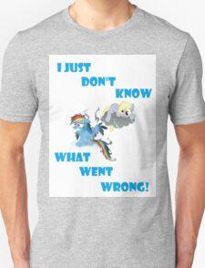 Derpy's gonna Derp - Poor Rainbow Dash T-Shirt