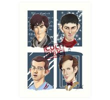 CULT BBC - The Heroes (All in 1) Poster Art Print