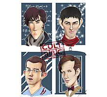CULT BBC - The Heroes (All in 1) Poster Photographic Print