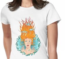 I'm drowning in the rain Womens Fitted T-Shirt