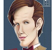 CULT BBC - The DR (Matt Smith) by Thomas Birrell