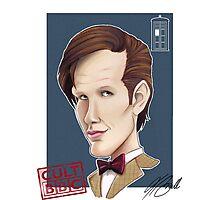 CULT BBC - The DR (Matt Smith) Photographic Print