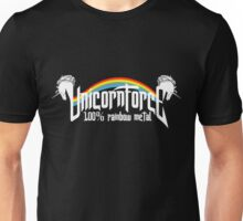 UnicornForce 100% Rainbow Metal Unisex T-Shirt
