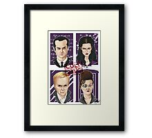 CULT BBC - The Villians Framed Print