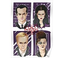 CULT BBC - The Villians Poster