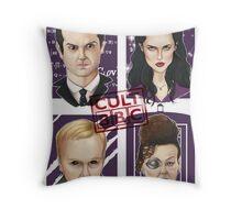 CULT BBC - The Villians Throw Pillow