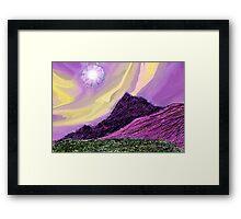 Landscape Composition-3 Framed Print