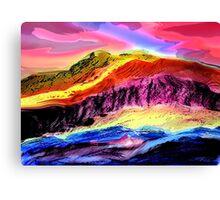 Landscape Composition-1 Canvas Print