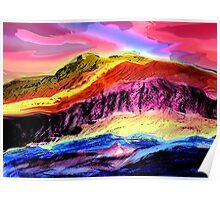 Landscape Composition-1 Poster