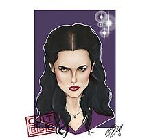 CULT BBC - Morgana (Merlin) Photographic Print