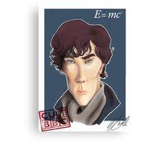 CULT BBC - Sherlock (Benedict Cumberbatch) Canvas Print