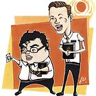 BOOK OF MORMON - The Musical (Josh Gad & Andrew Rannells) by Thomas Birrell