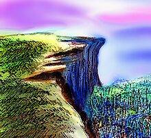 The Cliff by Sesha