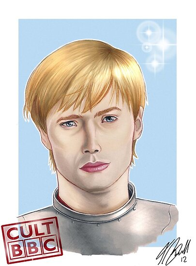 CULT BBC - Arthur (Merlin) by Thomas Birrell