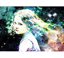 i will give you all the rainbows ,the birds and stars  Photographic Print