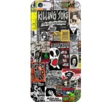 PUNK GIG COLLAGE iPhone Case/Skin