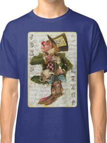 Mad Hatter Joker Card Classic T-Shirt