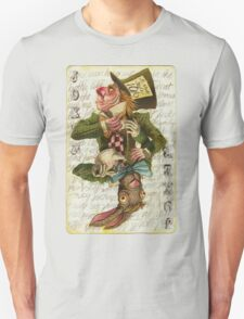 Mad Hatter Joker Card T-Shirt
