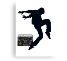 Break Dancing Canvas Print