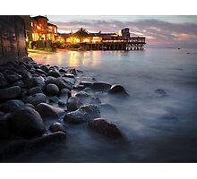 Sunset in Monterey Photographic Print