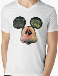 Elderly Mouse Mens V-Neck T-Shirt
