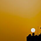 SUNDOWN OVER AMMAN by runda
