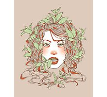 Peppermint Girl Photographic Print