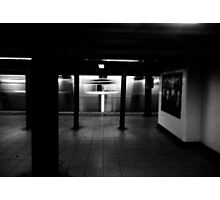 no one is there Photographic Print