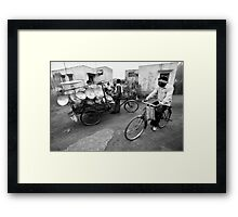 Pan seller Framed Print