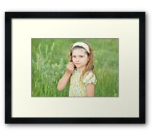 Born And Raised In The Country Framed Print