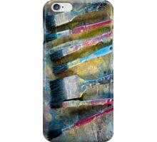 Paint brushes iPhone Case/Skin