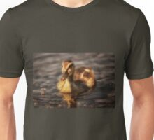 Water drops on duckling Unisex T-Shirt